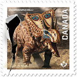 Dinosaurs come to life on Canada Post stamps. Dinosaur Stamps 2015