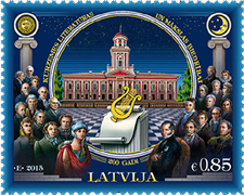 Latvia - 200th Anniversary of Courland Society for Literature and Art