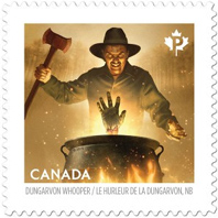 Haunted Canada stamps 2016