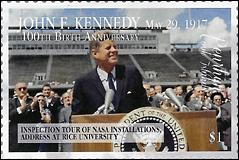 John F Kennedy Stamp Penrhyn 2017