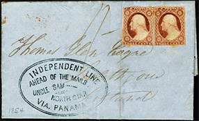 "folded letter with an ""Independent