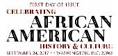 USPS African American History and Culture stamp 2017