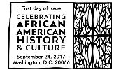 First Day of Issue - African American History and Culture stamp 2017, USPS