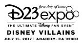 USPS - Disney Villains Stamps 2017 - Disney 23 Expo - D23 Expo