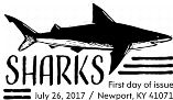 Sharks Stamps First Day of Issue FDOI