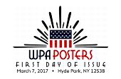 First Day of Issue - WPA Posters Stamp