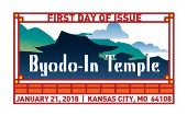 Byodo-In Temple First Day of Issue 2018