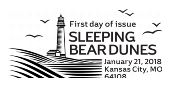 Sleeping Bear Dunes First Day of Issue 2018