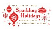 Sparkling Holidays First Day of Issue 2018 - Digital Color Pictorial