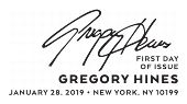 Gregory Hines First Day of Issue, FDC 2019