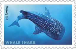 USPS Shark stamps 2017