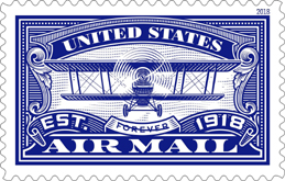 US Airmail Army Pilots Stamp