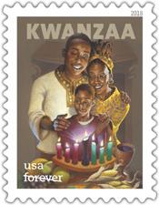 USPS Kwanzaa Stamp 2018