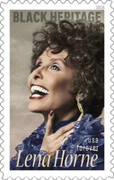 Lena Horne Stamp USPS 2018