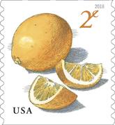 Meyer Lemons Stamp, USPS 2018