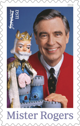 Mr. Rogers stamp, USPS 2018