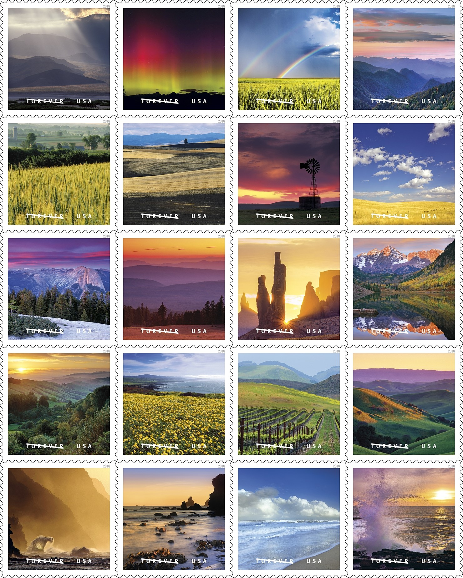 USPS New Stamp Issues 2018 on StampNewsNow com