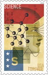 STEM Education stamp, USPS 2018