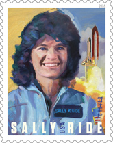 Sally Ride Stamp, USPS 2018