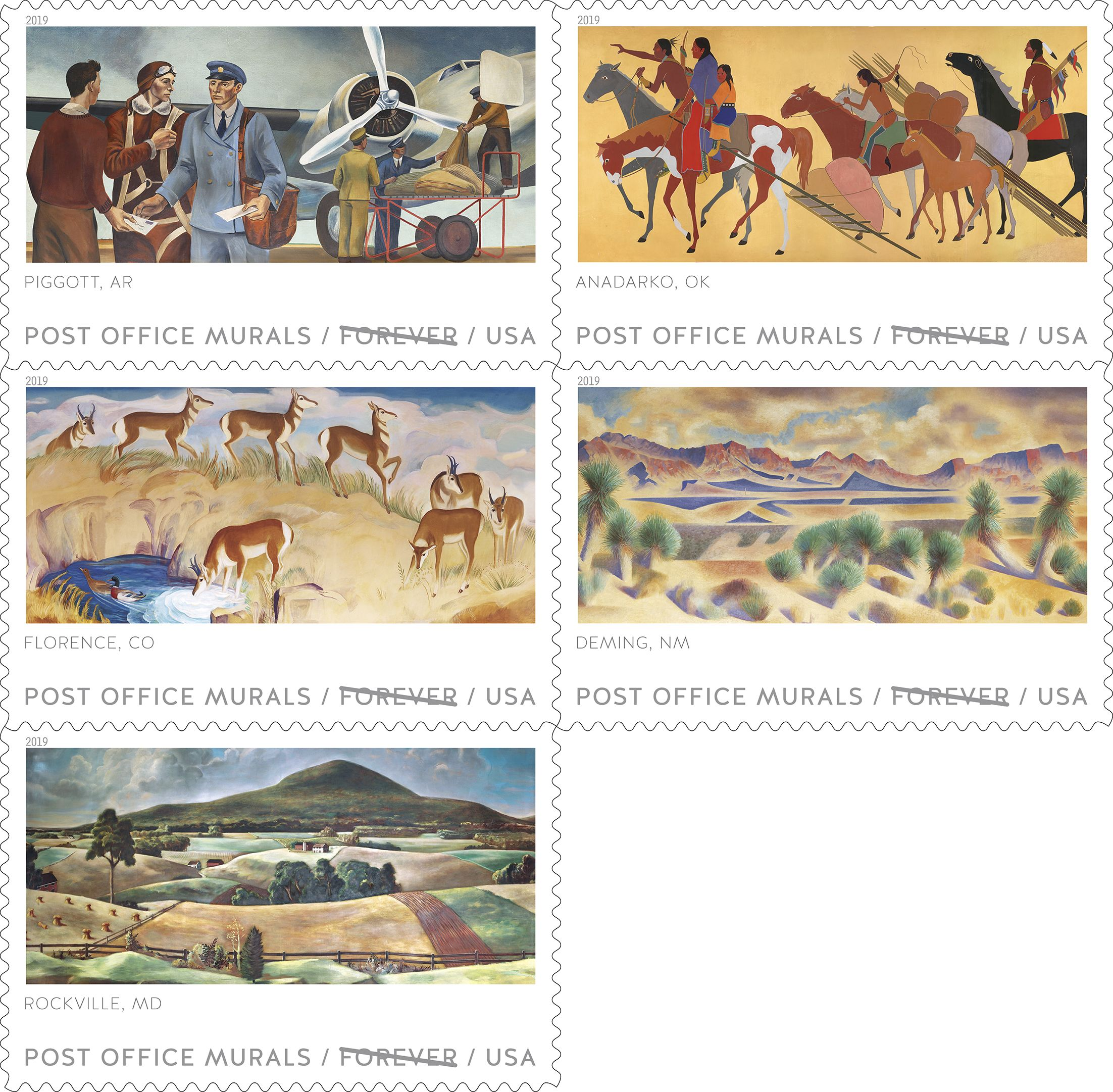 Usps Christmas Stamps.Usps New Stamp Issues 2019 On Stampnewsnow Com